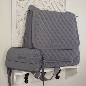 Vera Bradley Crossbody Mail Bag w/ Wristlet Wallet